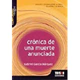 Cronica de una muerte anunciada (Gabriel García Márquez): compendios vosgos