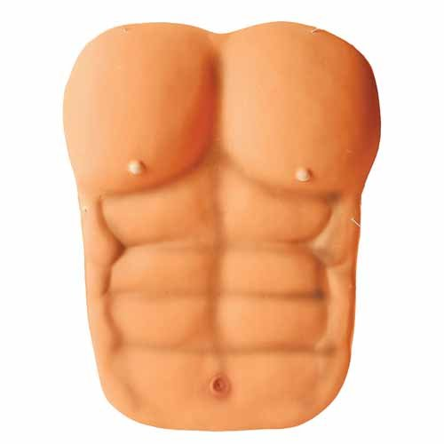 Adult Size Muscle Man Chest Plate