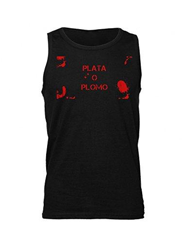 narcos-bloody-plata-o-plomo-artwork-mens-tank-top-shirt-medium