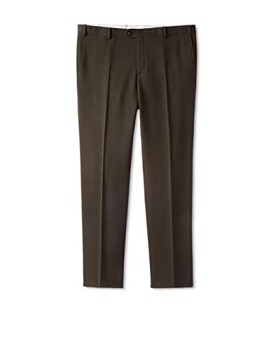 Zanella Men's Solid Trouser