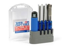 Tamiya Craft Rc Plastic Model Tool Set - 8pcs