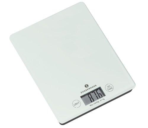 Zassenhaus 73201 Balance Balance numérique Blanc