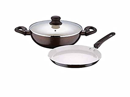 Bergner BG 7073 Renberg Press Ceramic Kadhai Set