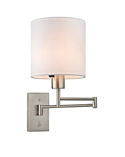 Artistic Lighting LED 1-Light Task Light, Brushed Nickel