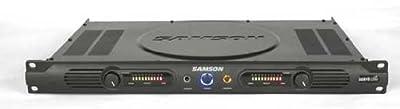 Samson Servo 120A Stereo Power Amplifier, 120 Watts from Samson