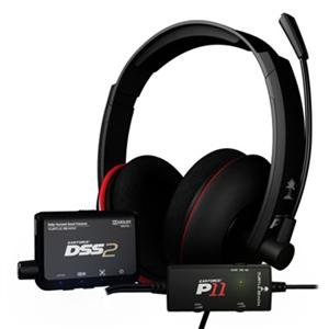 Turtle Beach Ear Force Dp11 Ps3 Headset Dss2 And P11 (Ear Force Dp11)