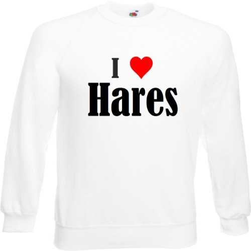 sweatshirt-damen-i-love-haresgrossexsfarbeweissdruckschwarz