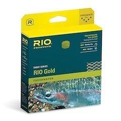 Rio: Gold Fly Line, Melon/Gray Dun, WF8F