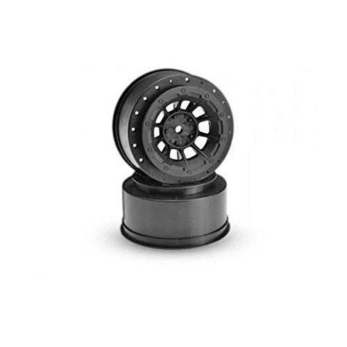 Front Hazard Wheel, Black (2) :2WD Slash