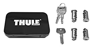 Thule 544 Lock Cylinders for Car Racks (4-Pack)
