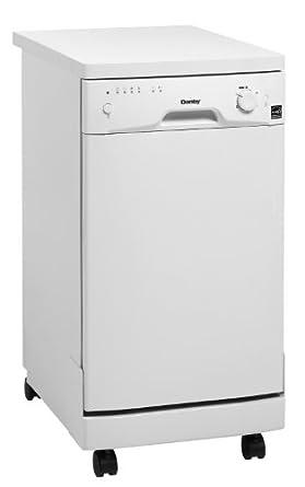 Danby DDW1899WP 18 Portable Dishwasher- White: Amazon.co.uk: Large ...