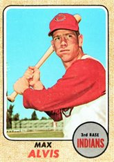 1968-topps-regular-baseball-card-340-max-alvis-of-the-cleveland-indians-exmt-condition
