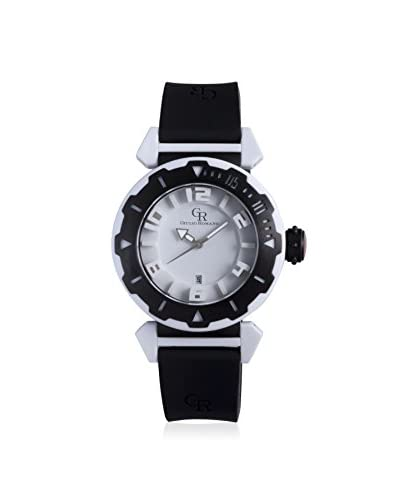 Giulio Romano Men's Ferrara Black/White Rubber Watch