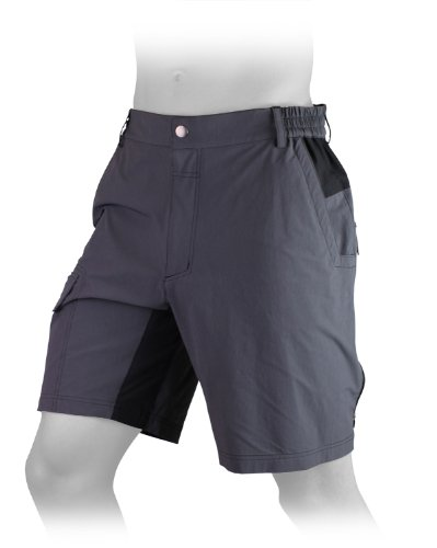 Gonso Arico Mens Cycling Shorts - S, Grey (Graphite)
