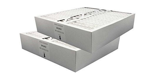 Atomic FC100A1011 20x20x5 Compatible Whole House Air Filter Fits Honeywell OEM 2-Pack