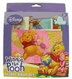 Disney Winnie The Pooh Sticker Album set [Toy]