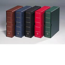 Lighthouse VARIO G Binder and Slipcase in Brown
