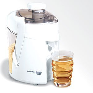 Hamilton Beach 67800 20-Oz Heatlth Smart Juicer- White from HAMILTON BEACH