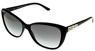 Versace Sunglasses Women Black Butterfly VE4264B GB1/11