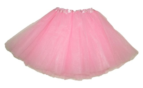 Light Pink Dance Or Ballet Tutu front-208784