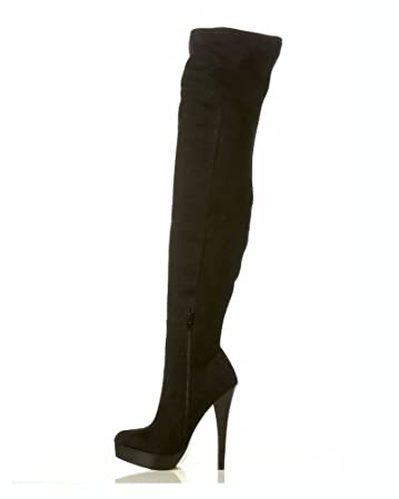 bebe Daniela Thigh High Boot from bebe.com