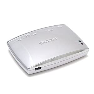 I-ROCKS IR-5400-SL All-in-1 Card Reader (Silver)