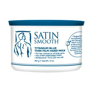 Satin Smooth Titanium Blue 14oz [Health and Beauty] (Wax Warmer Conair compare prices)
