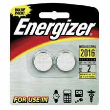 Energizer Products - Lithium Batteries, 3.0 Volt, For CR2016/CR2016/SBT-11/LF1/4V - Sold as 1 CD - Lithium 3.0 volt batteries are designed for use in watches, calculators, PDAs, electronic organizers, keyless entry devices, LED lights, sporting goods such as pedometers, calorie counters and stopwatches, and medical devices such as digital thermometers and glucose monitors.