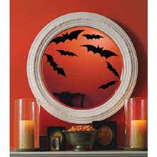 Martha Stewart Crafts Bat Window and Mirror Cling