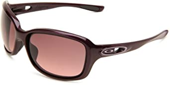 Oakley Womens Urgency OO9158-06 Wrap Sunglasses,Raspberry Spritzer Frame/Black Gradient Lens,one size