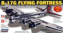 B-17g Flying Fortress Chorm Plated 1:64 Scale Plastic Model Kit
