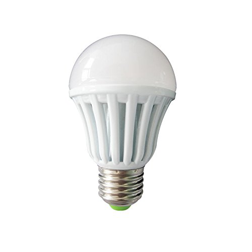 12W E27 Plastic Body White LED Bulb