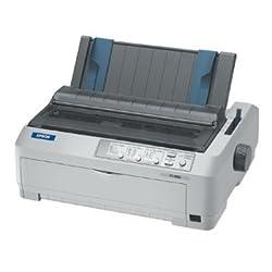 Epson C11C524001 FX-890 Dot Matrix Printer 9-pin - 680 cps Mono - 240 x 144 dpi - Parallel USB