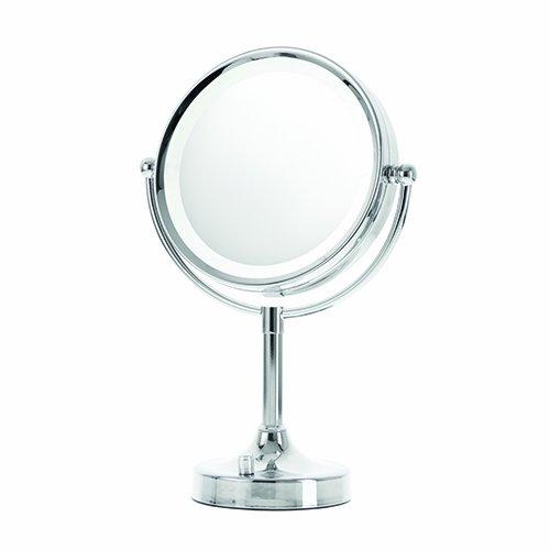 Danielle Enterprises 8X Magnifying Chrome Led Vanity Mirror front-907226