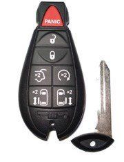 2010 10 Chrysler Town and Country Remote & Key Combo - 7 Button