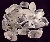 Raw Unpolished Brazilian Quartz Crystal Points Healing Stones Metaphysical One Pound Medium Sized