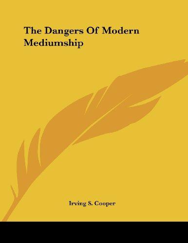 The Dangers of Modern Mediumship