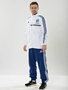 2013-14 Chelsea Adidas Sweat Pants (Blue)