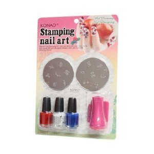 Konad Stamping Nail Art Set at Amazon.com
