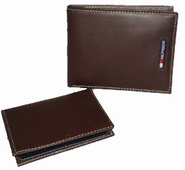 Men's Tommy Hilfiger Wallet Passcase Brown