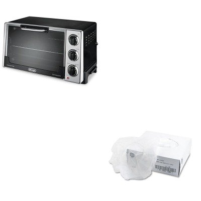 Kitdloro2058Ufs7387Wl - Value Kit - Delonghi Convection Oven W/Rotisserie (Dloro2058) And General Supply Disposable Hair Net (Ufs7387Wl)