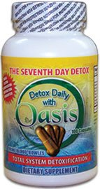 Oasis Detox Capsules Daily Cleansing Pills
