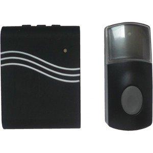 idk-car-110-carillon-sans-fil-polyvalent-avec-mode-vibreur-100-m-de-portee-noir