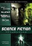 SPLIT SECOND * MILLENIUM * INVASION AUS DEM INNEREN DER ERDE * CYBER TRACKER 1+2 * Science Fiction Collection DVD