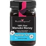 Wedderspoon Premium Raw Manuka Honey Active 12+