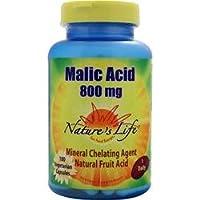 Malic Acid 800 mg 100 Veg Caps
