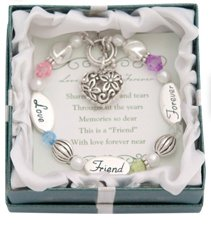 Love, Friend, Forever Silver & Crystal Expressively