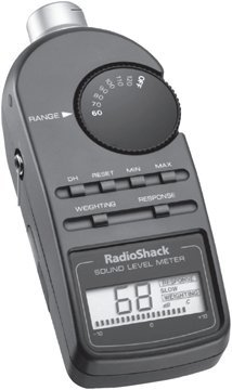 Radio Shack Digital Sound Level Meter