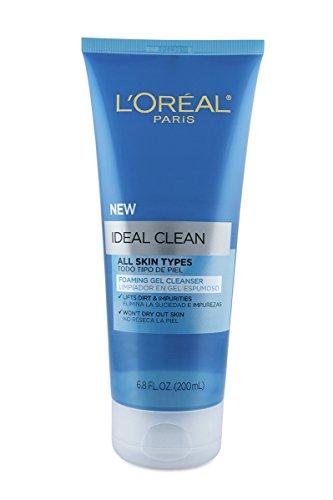 loreal-paris-ideal-clean-foaming-gel-facial-cleanser-all-skin-types