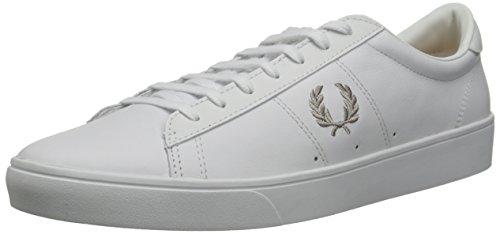 Fred Perry Spencer, Sneaker uomo bianco Size: EU 46 (UK 11)